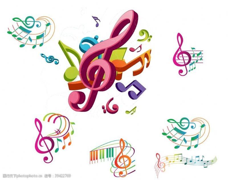 矢量音符音符图片