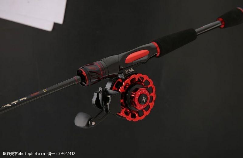 钓鱼渔具图片
