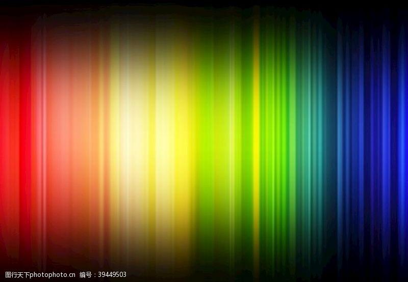 鲜艳彩色光谱图片