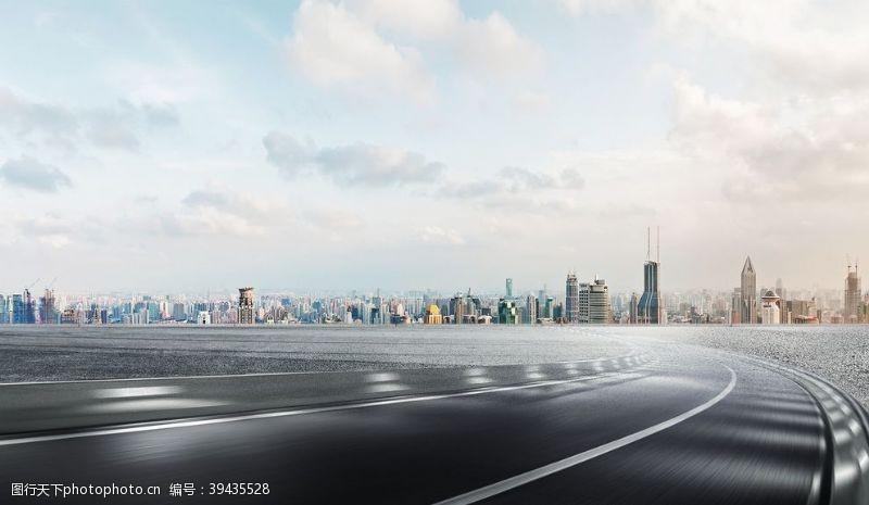 速度城市马路图片