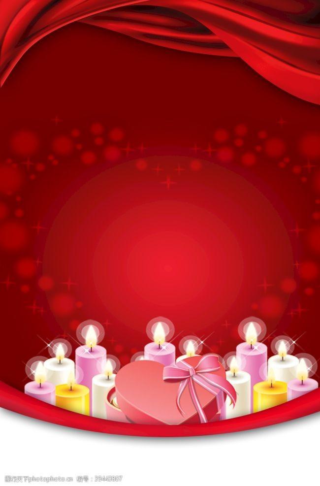 妇女节背景红色喜庆新年展板背景素材图片