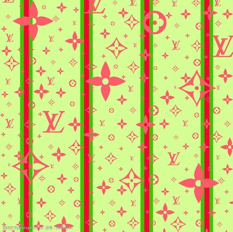 纺织品花无缝四方连续小碎花植图片