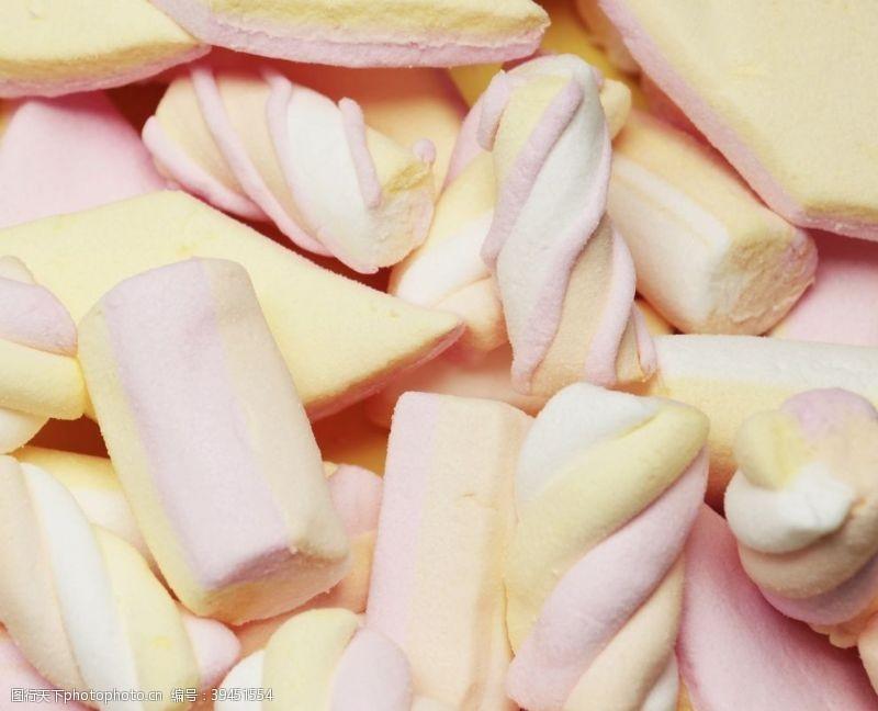 礼物美味的棉花糖图片