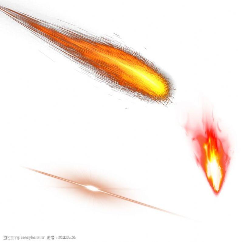 发光燃烧火苗图片