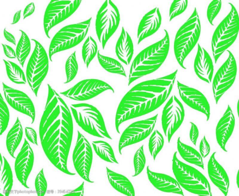 叶子芭蕉叶黑色蓝色绿色图片