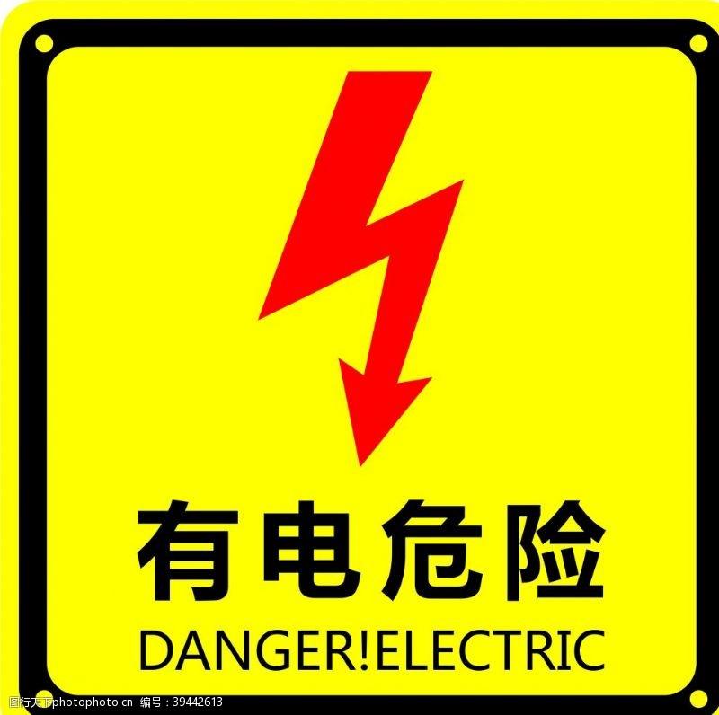 闪电有电危险图片