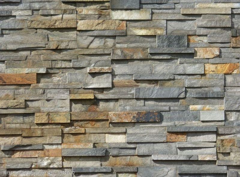 中式古典砖墙背景图片
