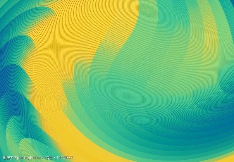 炫光抽象线条背景图片