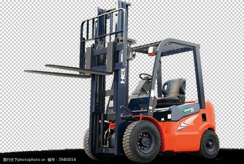 建筑海报工程车图片