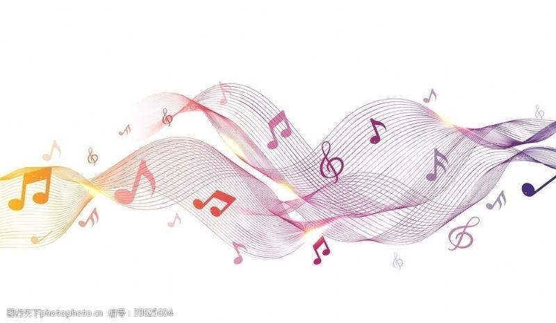 歌手比赛音乐背景图片