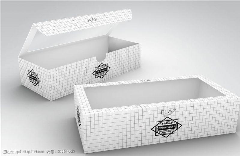 贴图模板包装盒样机图片