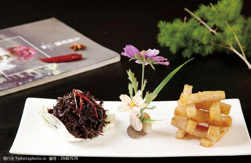 餐饮长寿鱼卷图片