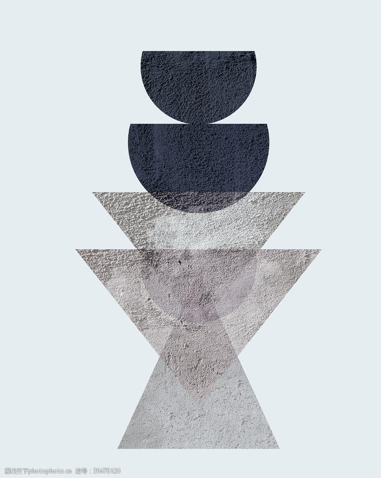 分层抽象几何图片