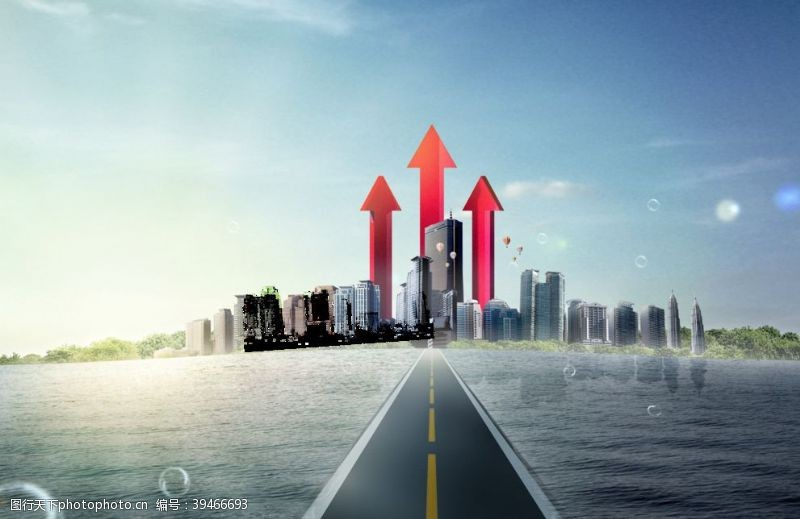 地产建筑海报图片