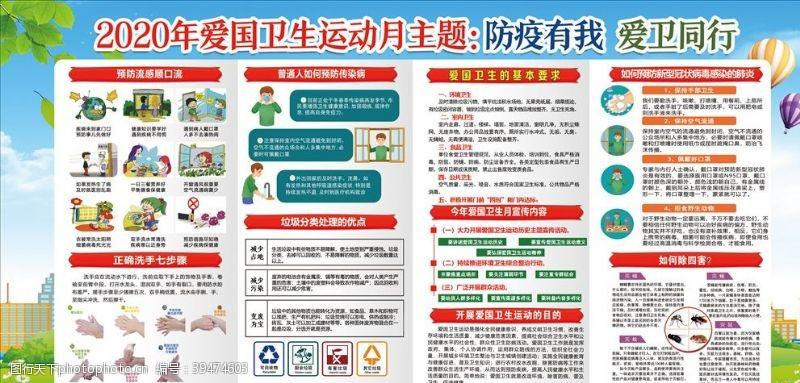 冠状防疫宣传栏图片