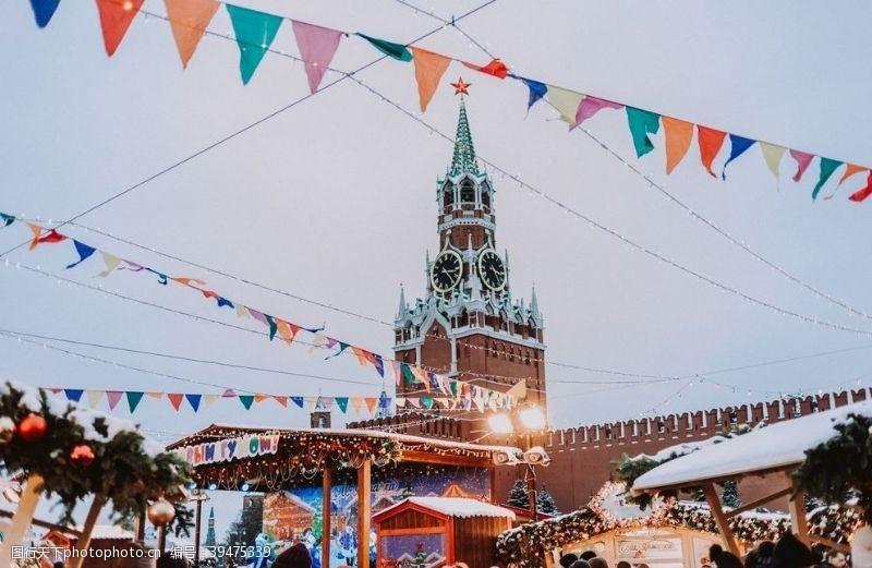 俄国克里姆林宫图片
