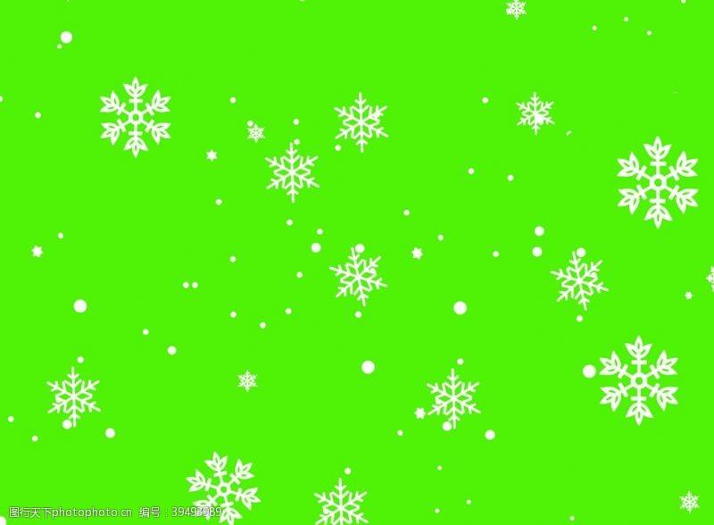 绿雪花tif图片