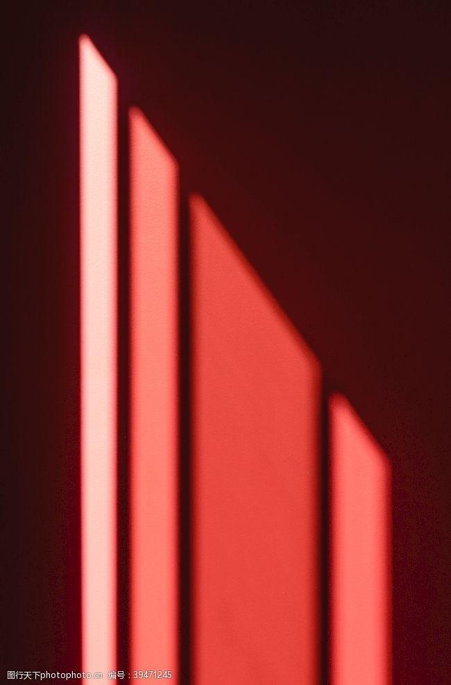 光影墙面阳光投影图片