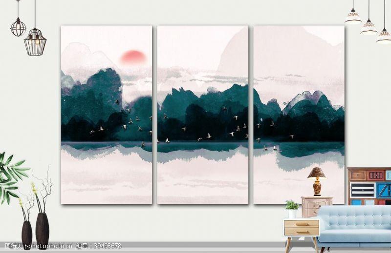 写意山水画图片