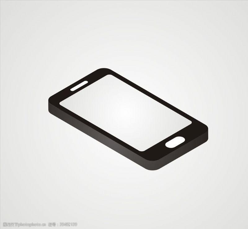 苹果手机矢量手机素材文件图片