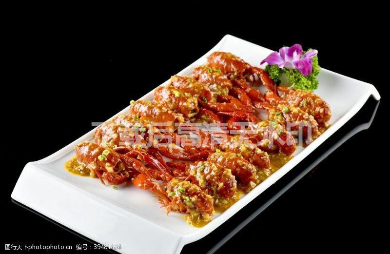 dm蒜蓉小龙虾图片