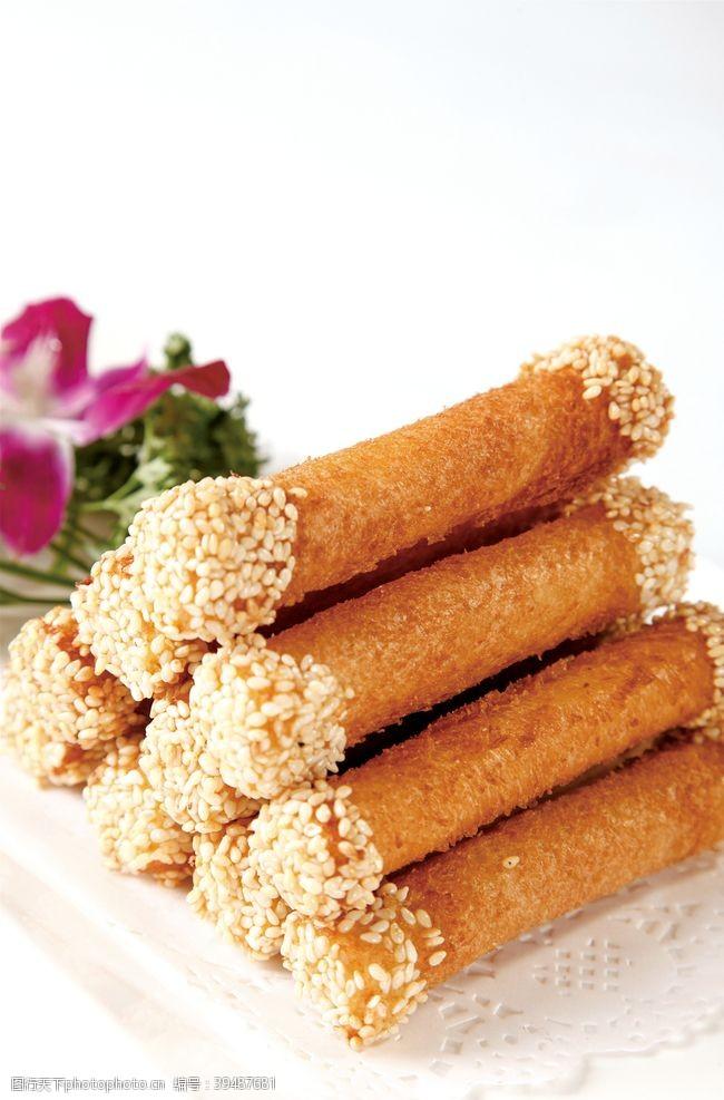 餐饮香芋土司卷图片