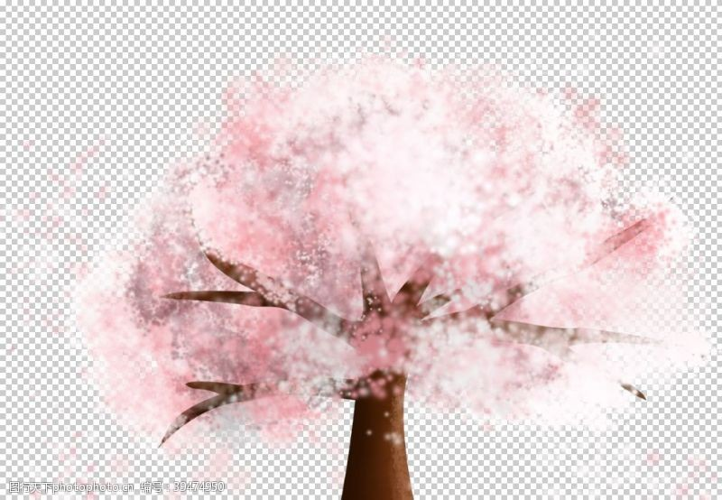 樱花背景樱花素材图片