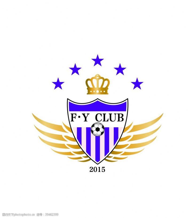 翅膀足球俱乐部logo图片