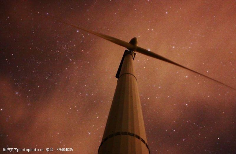 自然风风车图片