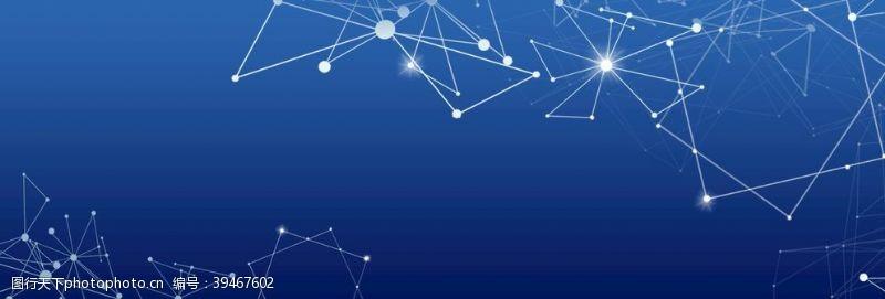 科技感蓝色科技图片