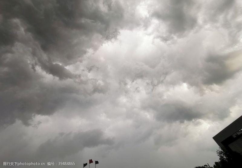 科幻能量凝聚的天空图片