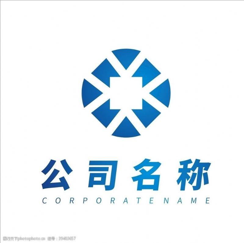 建筑公司商务公司logo设计图片