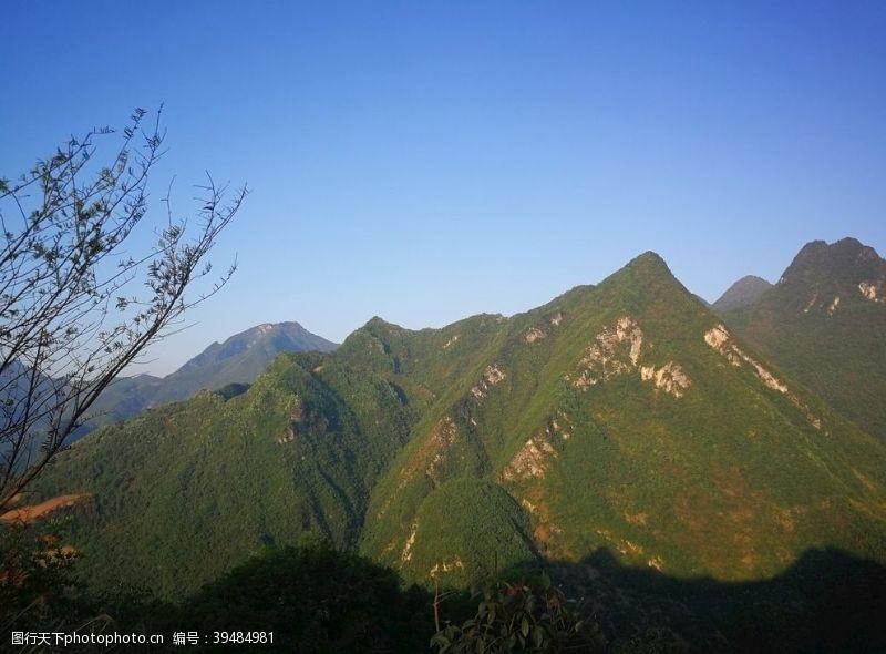 自然风光山图片