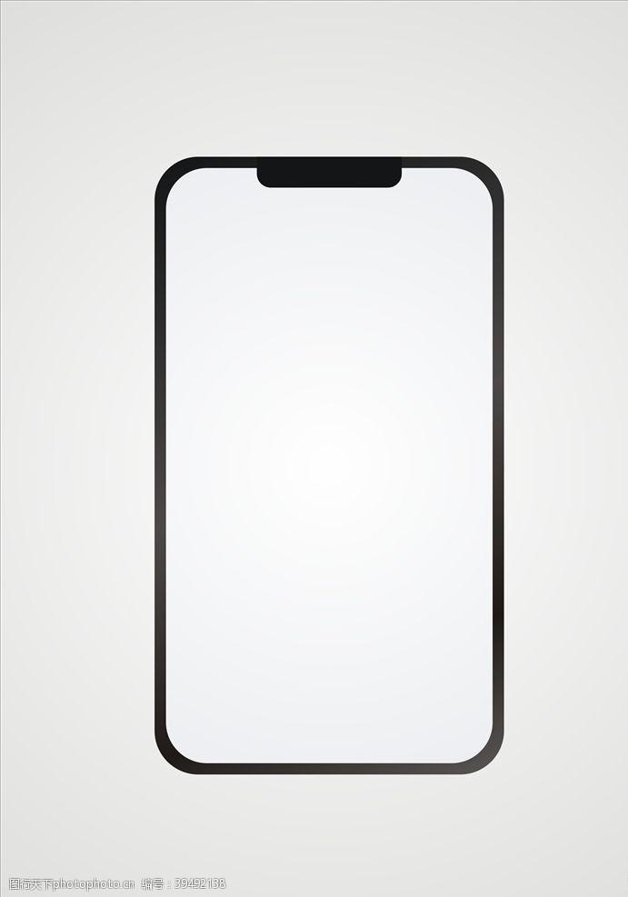 苹果手机矢量手机元素设计图片