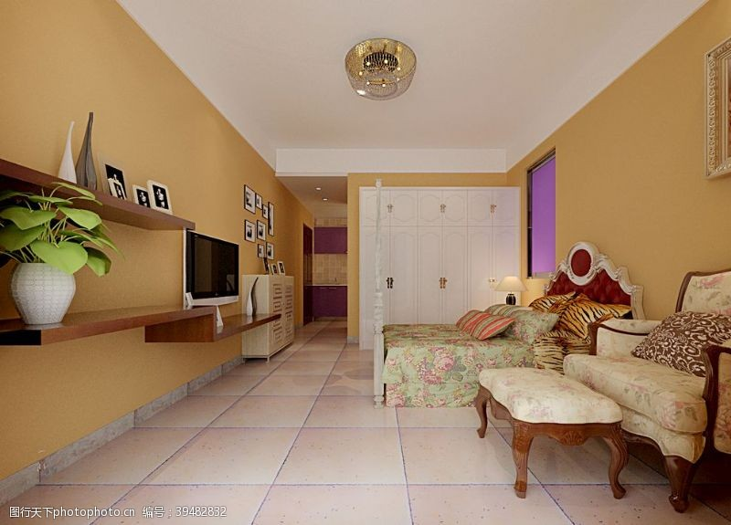 卧室装修效果图图片