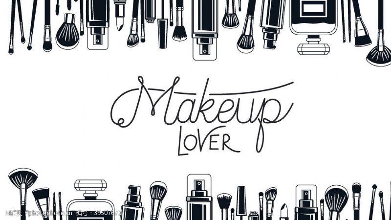 彩妆化妆品海报图片