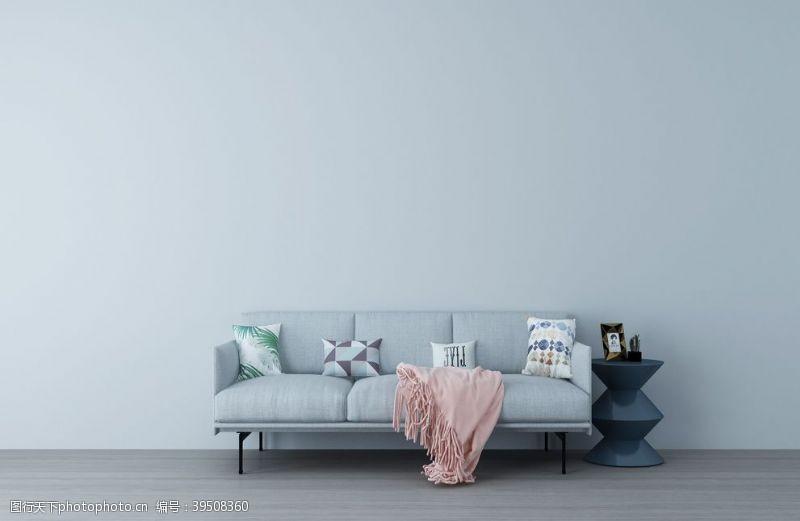 简约家居装修背景海报素材图片