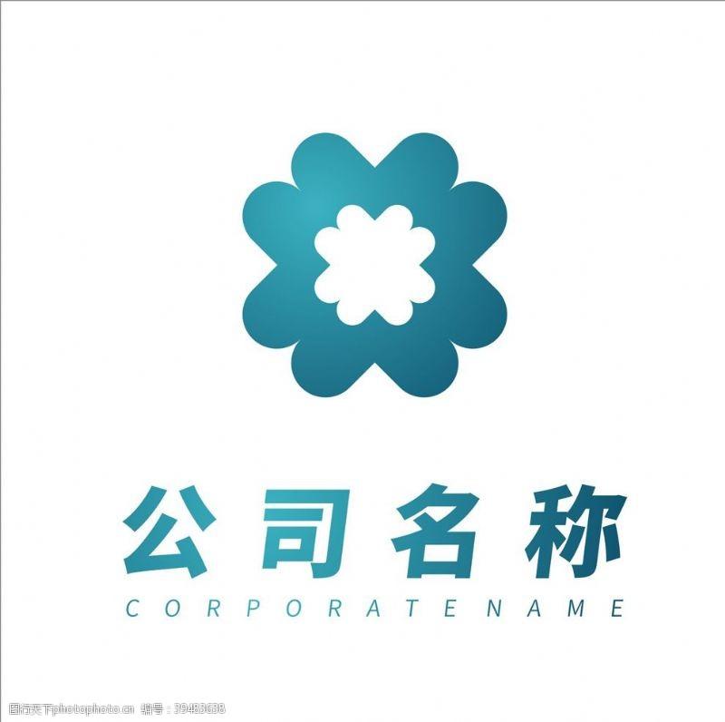 建筑公司简约logo设计元素图片