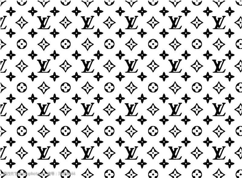 标志图标LV路易威登的图案图片
