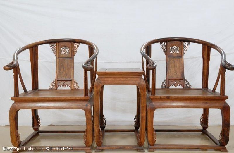 紫檀明清椅子图片