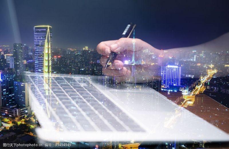 商务科技创业合成图案图片