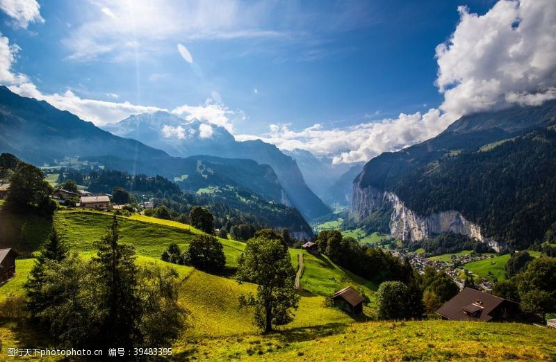 自然风光山脉图片