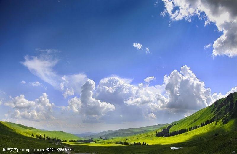 城市建筑新疆风景图片