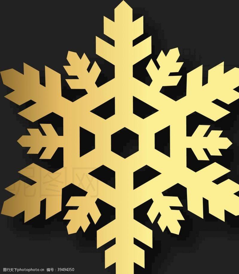 天气预报雪花图片