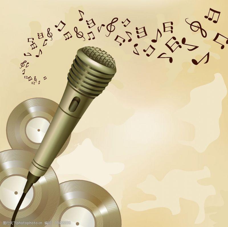 音乐比赛音符图片