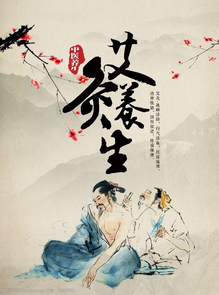 中医药文化中医文化海报图片