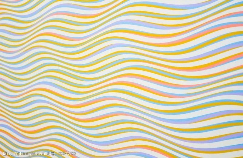 彩色波浪矢量背景图片
