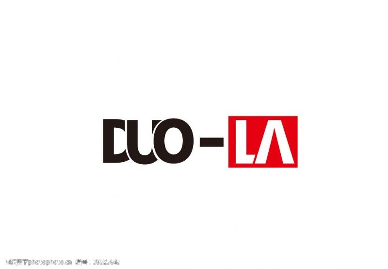 中文字体DUOLA字体设计logo图片
