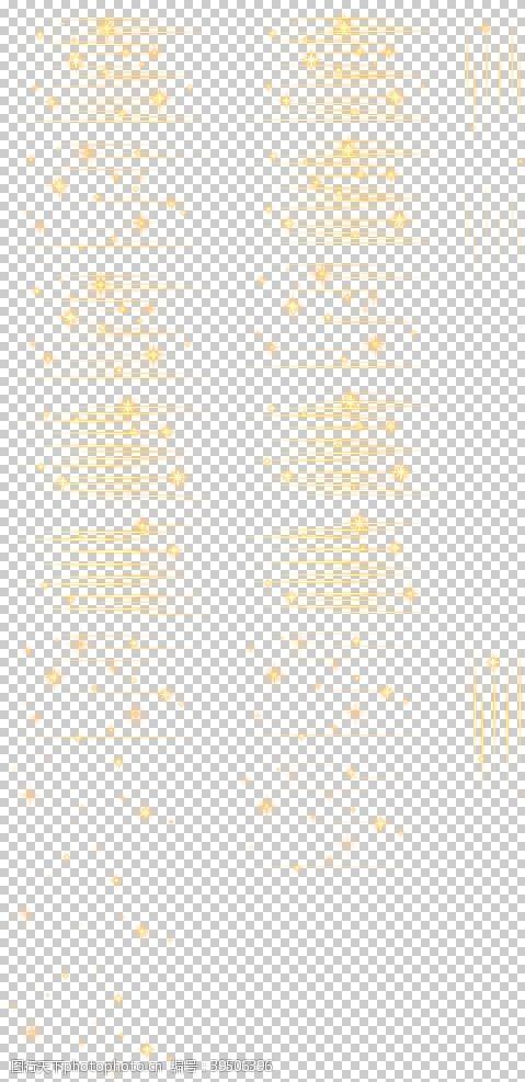 合成黄色特效图片
