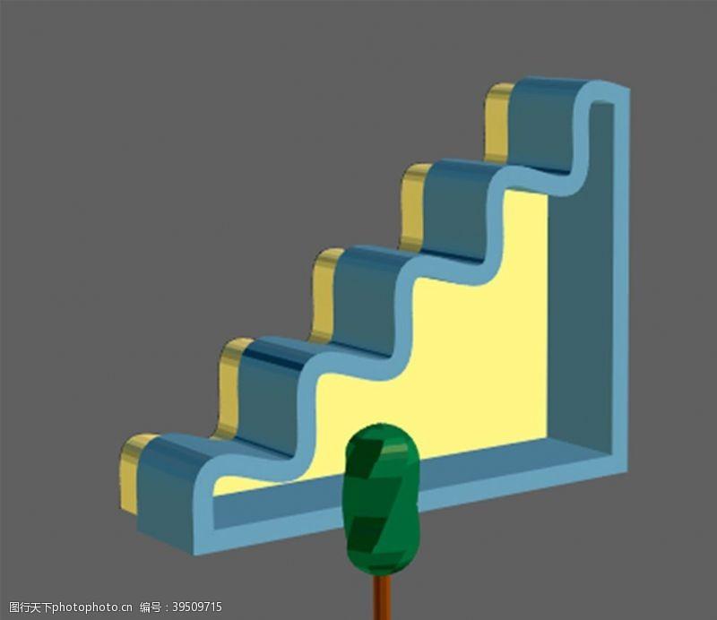 滑梯立体图片